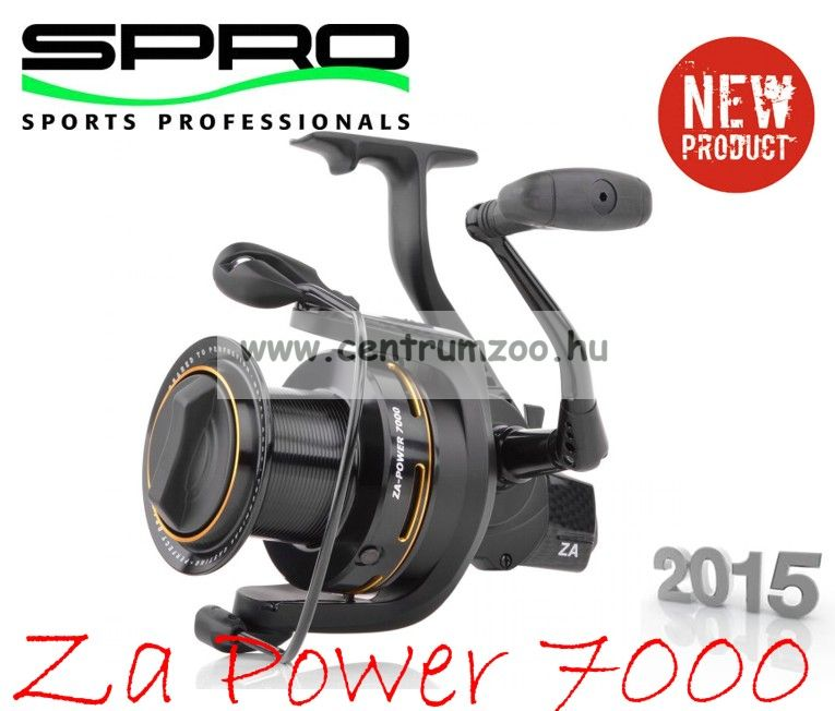 Spro Za Power 7000 6+1cs (1202-770) távdobó orsó