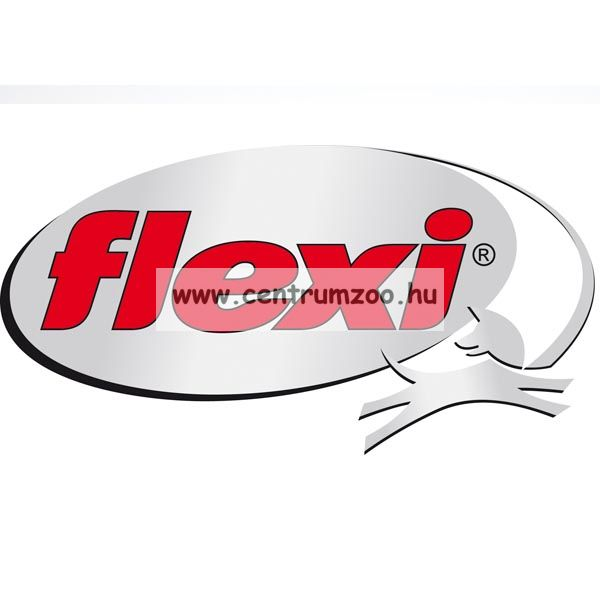 Flexi Vario Tape 2015NEW M ANTHRACIT SZALAGOS 5m 25kg automata póráz -SZÜRKE