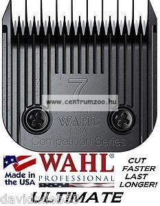 nyírófej ULTIMATE #7 /  4mm (3,8mm) MOSER WAHL 1245 1250 (MAX45 MAX50) géphez - 1247-7730