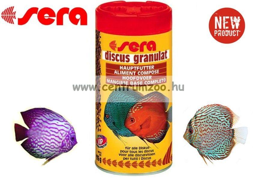 Sera Discus Granulat 1000ml díszhaltáp - gazdaságos kiszerelés (0307)