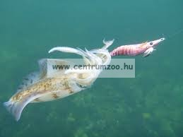 Lineaeffe Super Attractive Metal Squid Jig COLAB-3 tengeri műcsali 9,0cm (5079613) -PINK-NARANCS