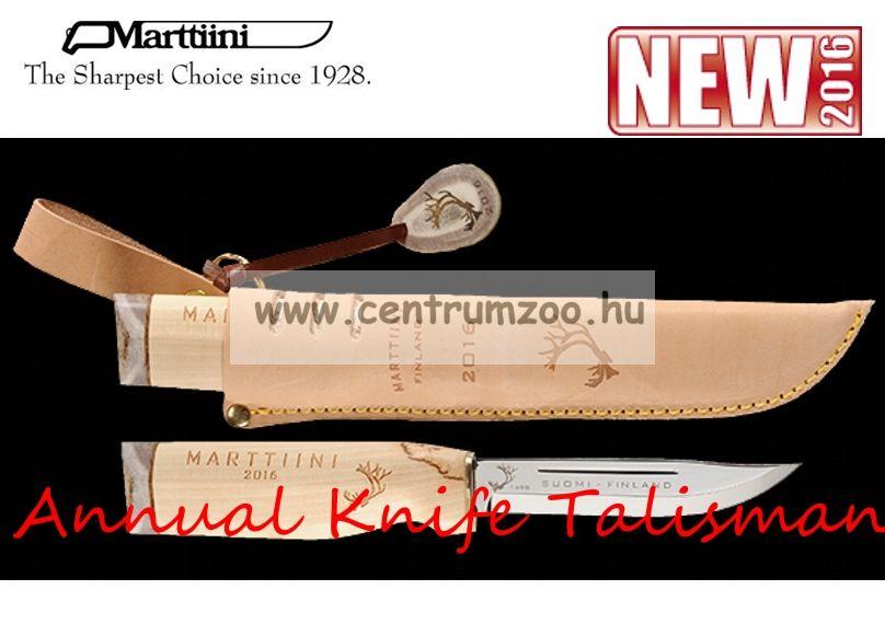 Marttiini Annual Knife Talisman 23cm (542016C) prémium tőr prémium bőr tok