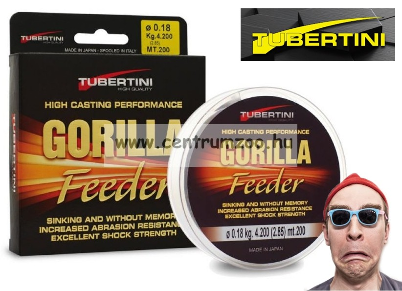 Tubertini Gorilla Feeder zsinór 200m (2353*)