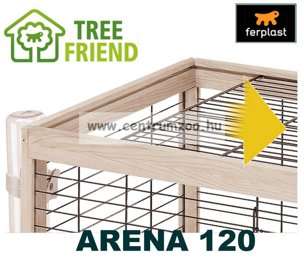 Ferplast Arena 120 fa-műanyag-fém tengerimalac és nyúl ketrec