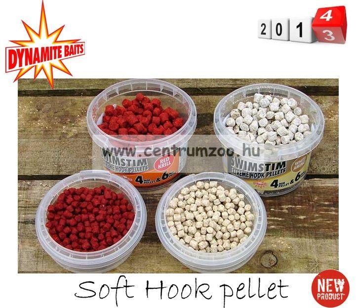 Dynamite Baits SWIM STIM SWEET AMINO WHITE Soft Hook pellet 4 és 6mm (DY219)