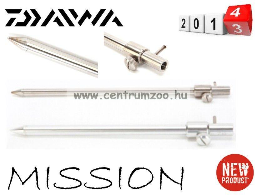 leszúró Daiwa Mission Stainless Telescopic Bankstick acél leszúró 9inch (DSTB9)