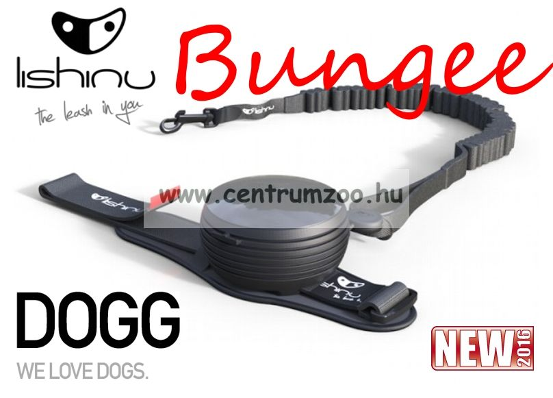 LISHINU BUNGEE automata póráz 3m 30kg-ig (116565) ORANGE