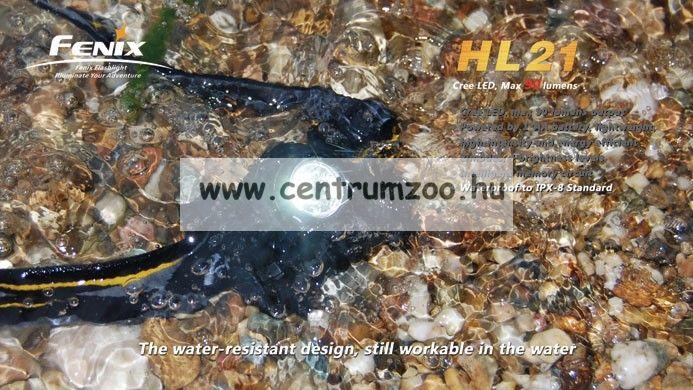 FENIX HL21 FEJLÁMPA (90 LUMEN) vízálló