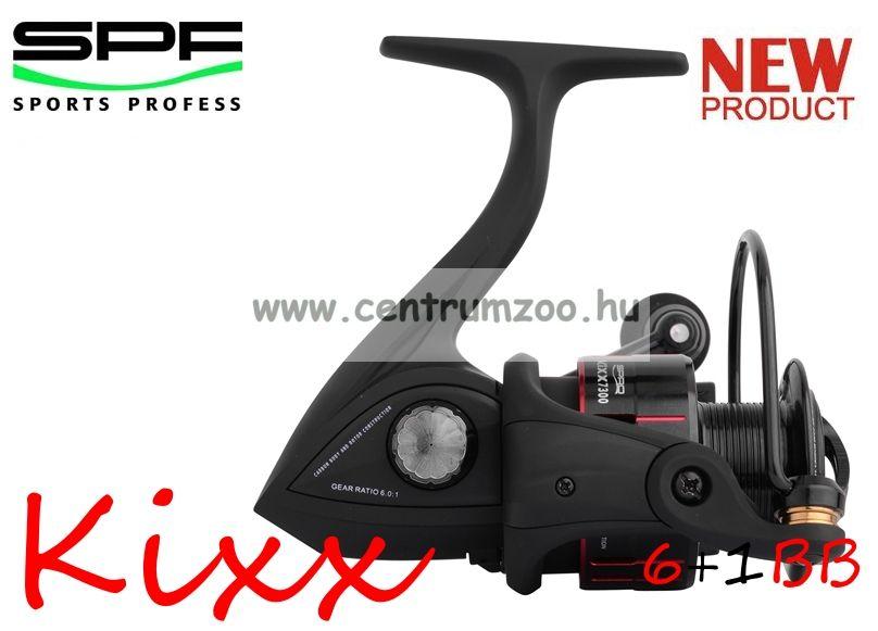 Spro Kixx 730 FD 6+1cs elsőfékes pergető orsó  (1303-730)