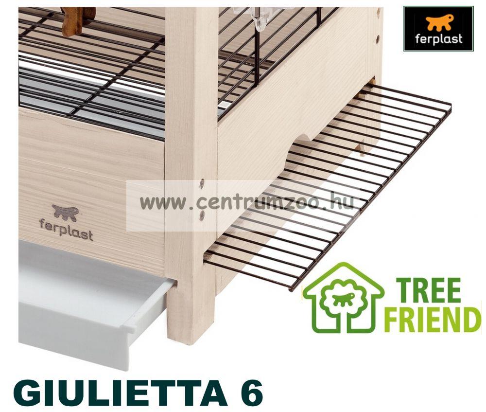 Ferplast Giulietta 6 felszerelt nagyméretű fa kalitka (2015NEW)