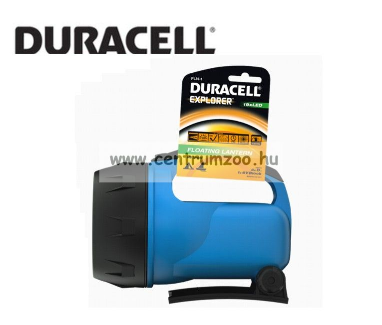 Duracell Reflektor Explorer horgász és kempinglámpa 100 lumen erős fénnyel (FLN-1)