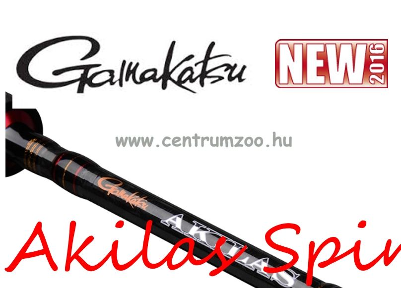 Gamakatsu Akilas 90H  Crank & Spinnerbait 270cm 10-45g 2rész pergető bot (24383-901)
