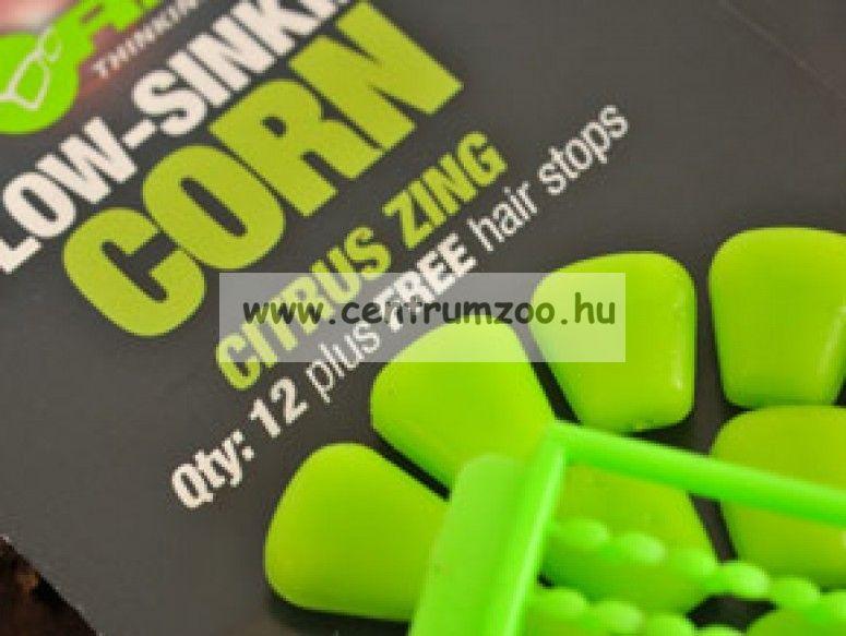 Korda Slow Sinking Maizre Citrus Zing Green MŰ KUKORICA - süllyedő (KPB01)