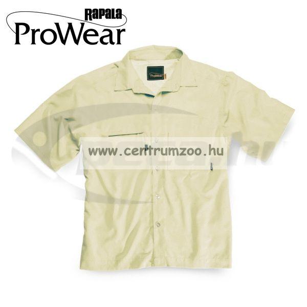 Rapala Pro Wear Light Travel Shirt Sand M (22205-2)