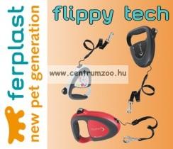 Ferplast Flippy Tech Deluxe Cord Medium Green zsinóros póráz - ZÖLD