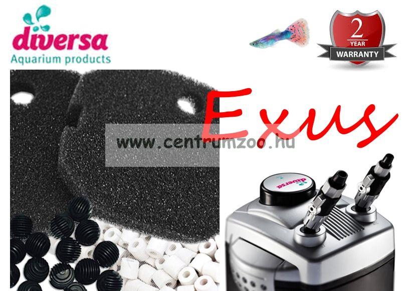 Diversa EXUS 1000 prémium külső szűrő 22W 350literig