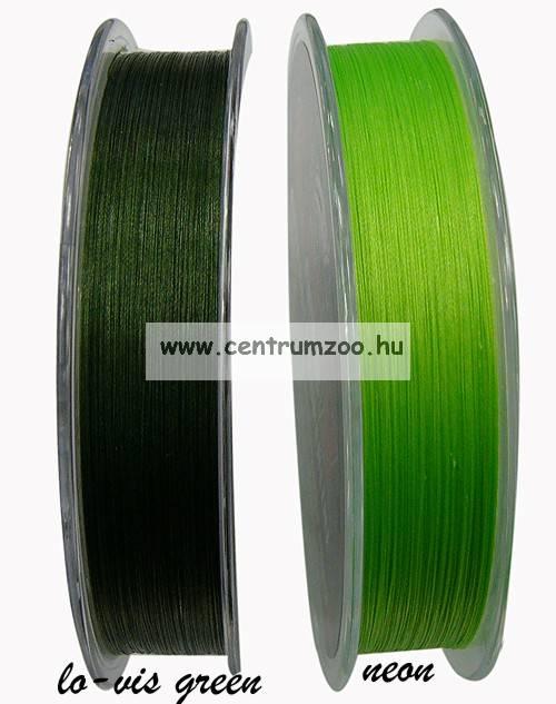 Sufix 832  V. generációs fonott zsinór 0.13MM/8.2KG/18LB/Low-Vis Green/ zöld 120m