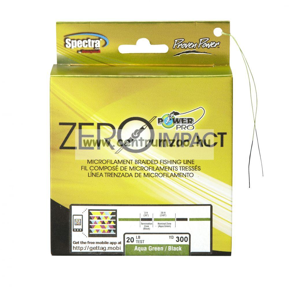 Power Pro Zero Impact fonott zsinór 135m 0,28mm 20kg AG