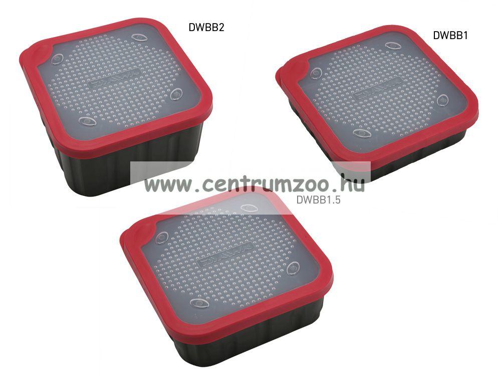 DAIWA BAIT BOX 1liter csalitartó doboz biztos zárással (DWBB1) (191818)