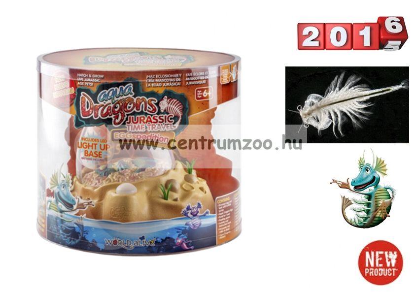 World Alive Aqua Dragons Őslénypark – Őskori sárkányok dinoszaurusz Keltető tojásban (4006)