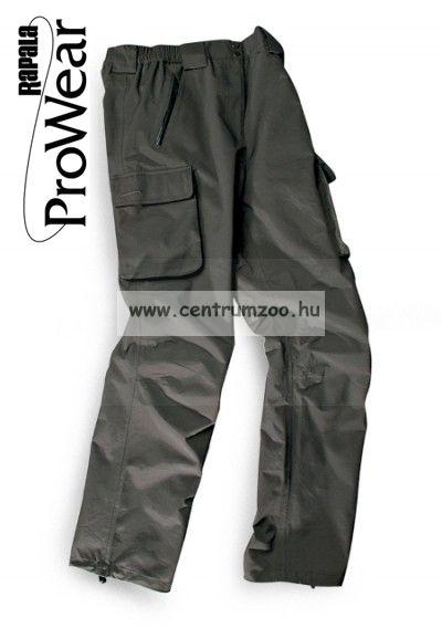 Rapala Pro Wear Light Aquavent Trousers Dark Grey XXL (21302-1)