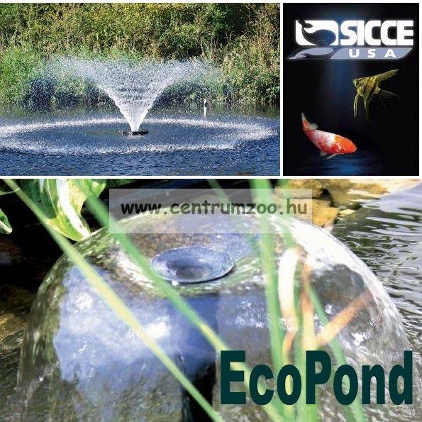 Sicce EcoPond 1 TAVI SZÖKŐKÚT - TÓSZŰRŐ 700l/h H120cm - SIKERTERMÉK