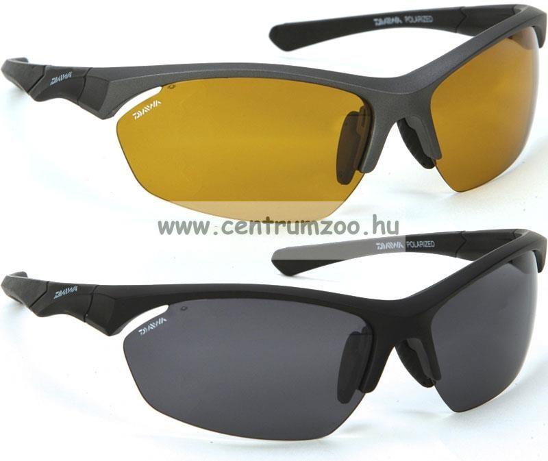 Daiwa Polarized Sunglasses grey frame amb lens modell DPROPSG6 -borostyánszín lencse (202727)