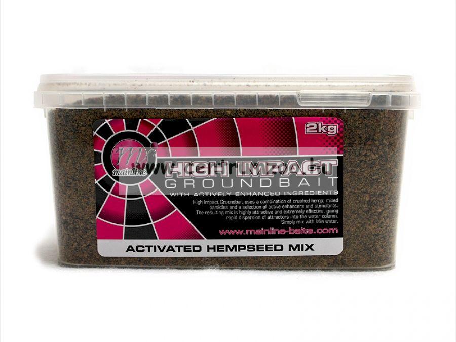 MAINLINE HIGH IMPACT ACTIVE FISH MIX INDIAN SPICE 2KG (M08005)