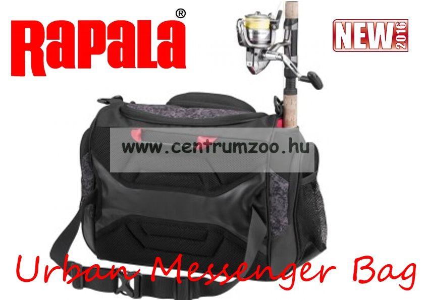 Rapala táska Urban Messenger Bag (RUMB) horgásztáska rekeszekkel