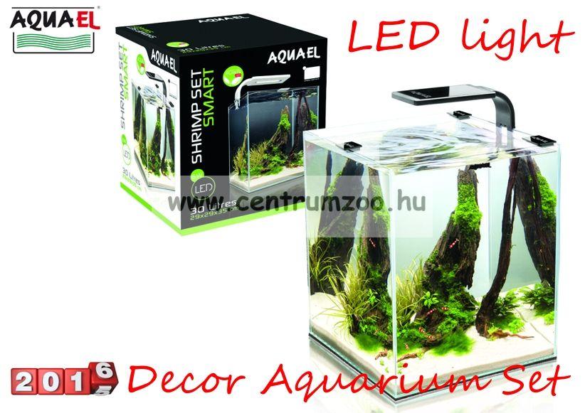 Aquael Shimp Smart Nano LED akvárium komplett szett 19liter