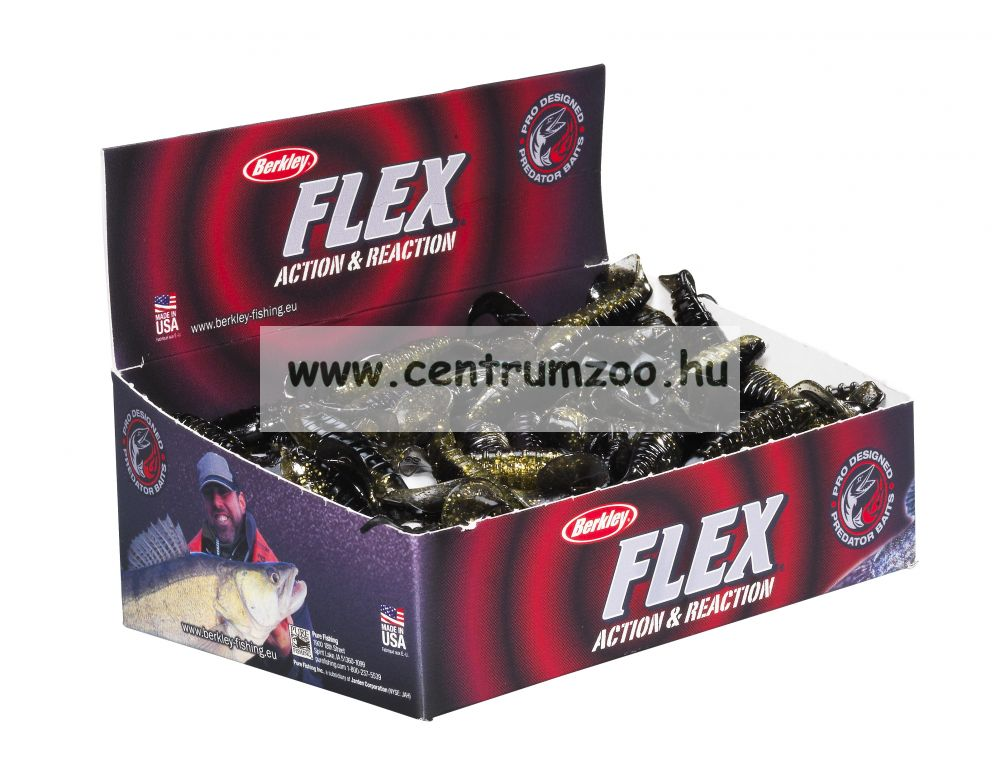 Berkley Flex Cutt Shad gumihal CHARTREUSE 10cm (1303799)