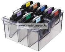 Moser Max 45 Professional 10mm fém magasító toldófésű