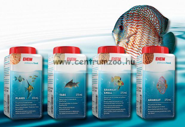 Eheim Small staple food granules for all cichlids and larger carnivorous fish kistestű sügéreknek 275ml (4910110)