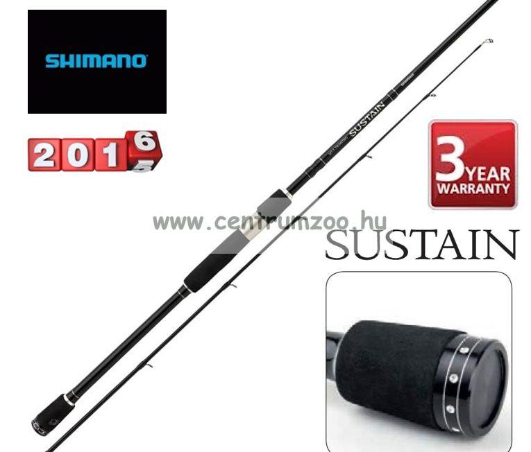 Shimano bot SUSTAIN SPINNING 190 1-10gr( SSUS19110 ) pergető bot