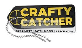 Crafty Catcher Zig Bites pellet  - 8 mm  20 g - Shimp & Larvae - rák és lárva