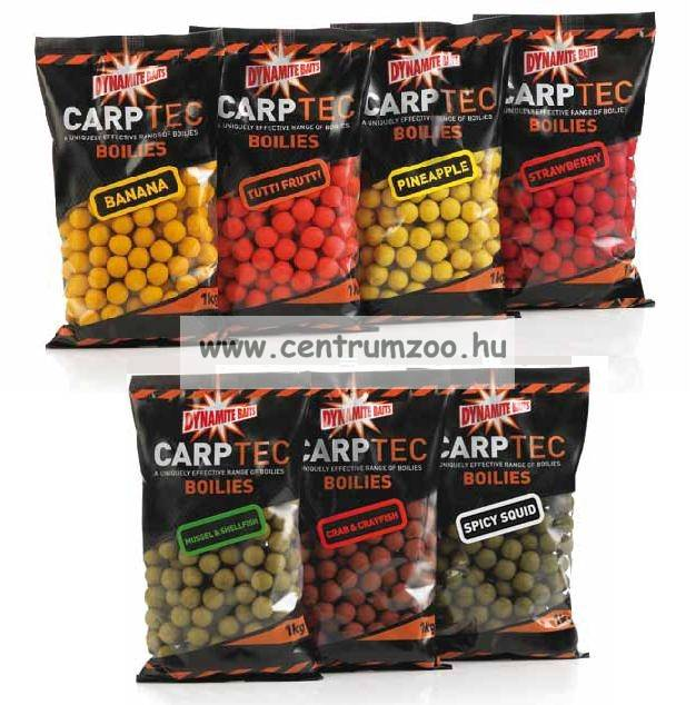 Dynamite Baits Carptec Strawberry bojli 1kg DY699 DY720