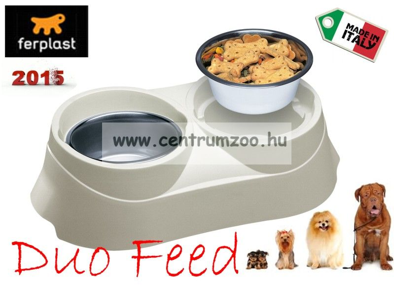 Ferplast Duo Feed 05 NEW dupla tál
