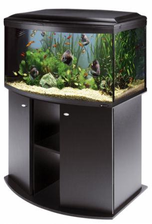 Ferplast Cayman 80 Scenic Black komplett  akvárium 150liter