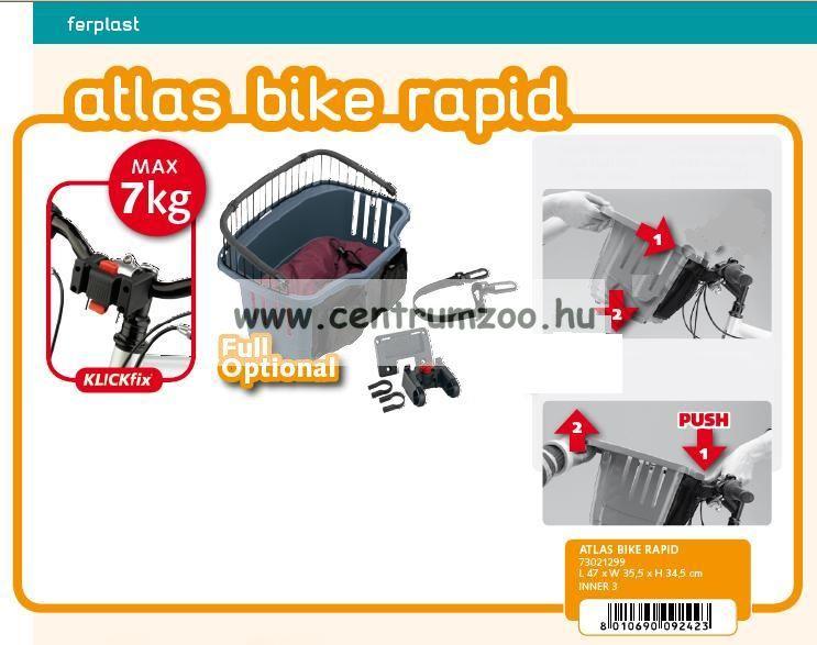 Ferplast Shopping Basket Rapid bevásárló bicikli kosár