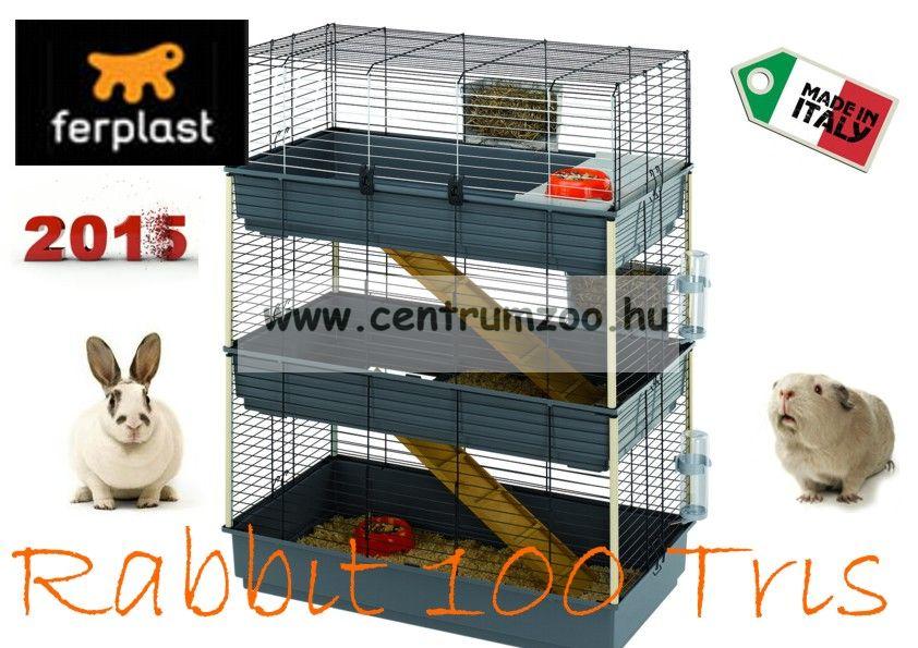 Ferplast Rabbit 100 Tris full felszerelt ketrec