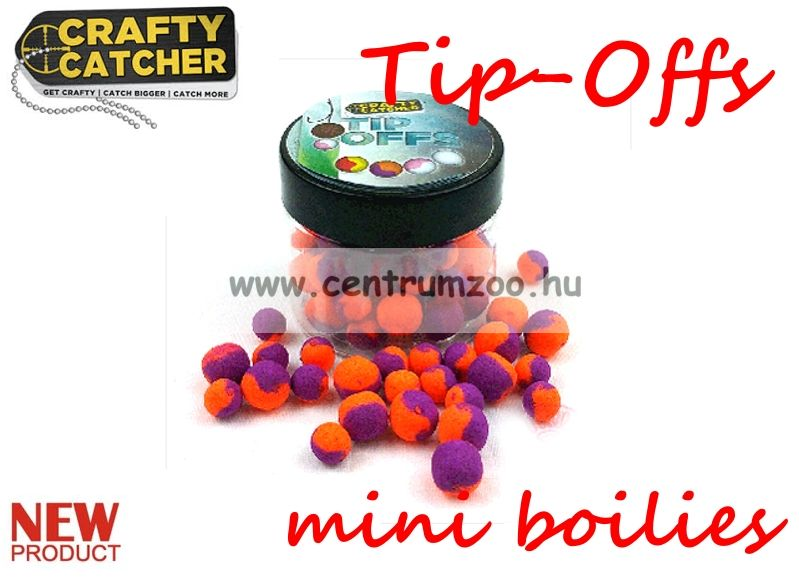 Crafty Catcher Tip Offs mini boilies  - 6 és 8 mm  20 g - SuperSweet Bubblegum- édes rágógumi