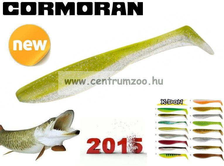 Cormoran K-Don S9 prémium gumihal 13cm YELLOW SHINER (51-28304)
