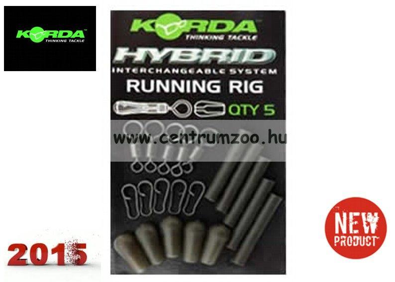 Korda Running Rig szett (KRR)