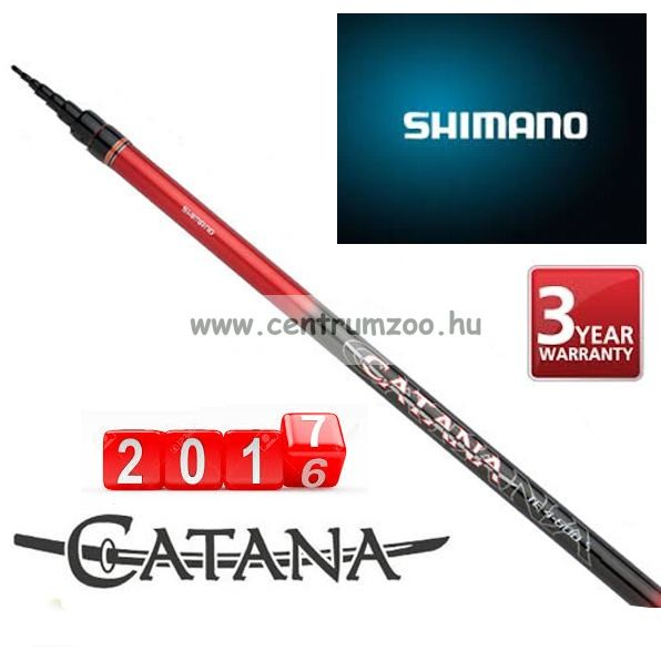 Shimano bot CATANA TELESCOPIC TE 4-500 5,0 m ACTION 4 (CATBXTE450)
