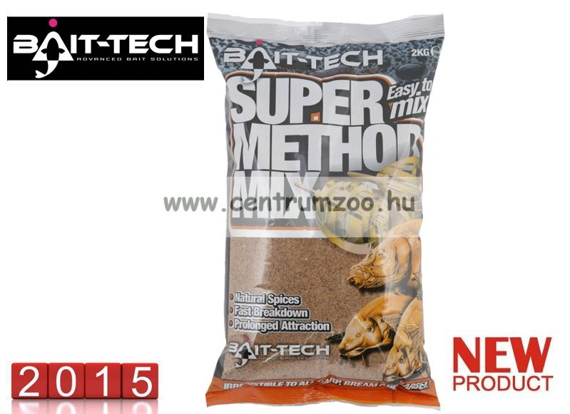 Bait-Tech Super Method Mix Red 1kg (4078)