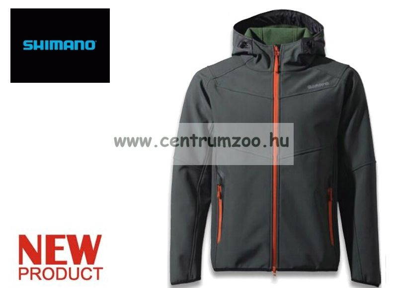 Shimano Stretch 3 Layer Jacket Black  fekete dzseki, kabát (JA040M)