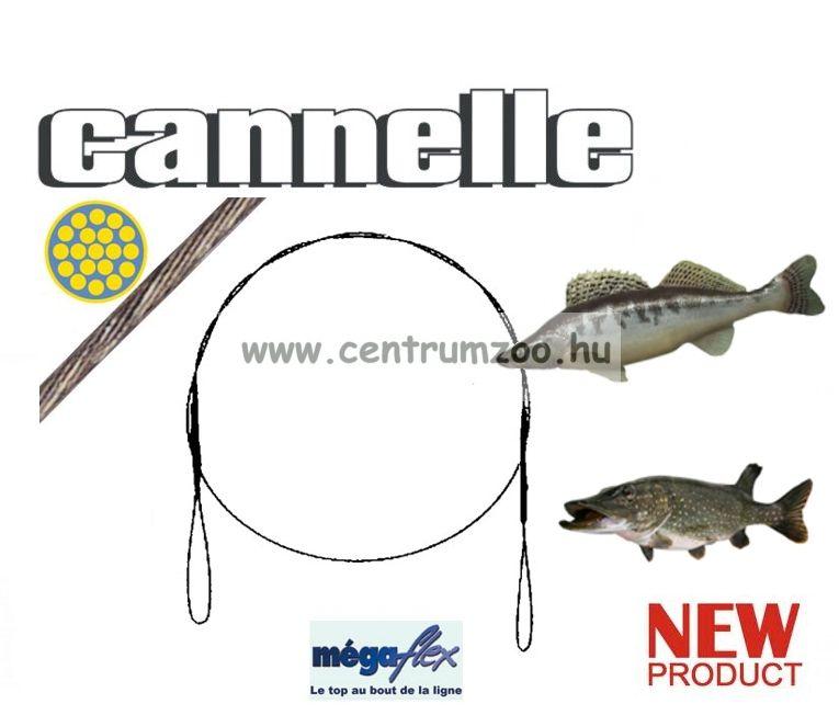 CANNELLE MEGAFLEX hurokban végződő előkezsinór szett 3db/cs (735)