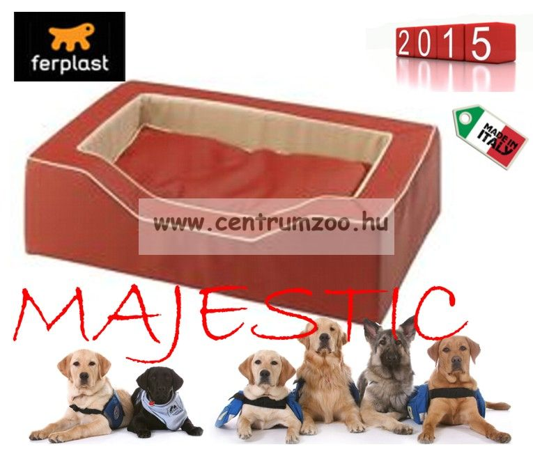 Ferplast Majestic  95 RED NEW Exclusiv fekhely