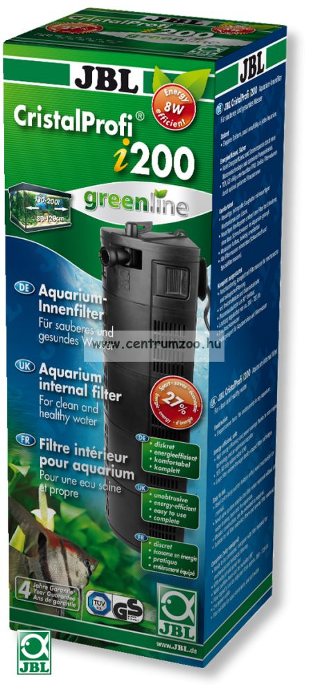 JBL CristalProfi i200 GREENLINE kímélő belső szűrő (max 200l) (60974)
