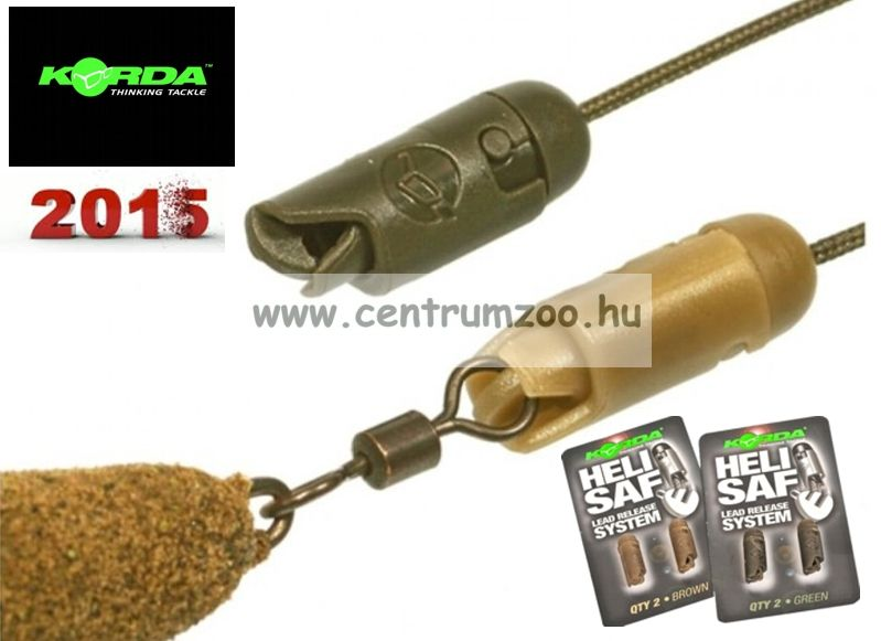 KORDA HELI SAFE bojlis adapter *NEW 2015* 2db (KHDB KHDG)